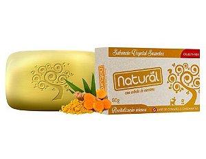 Sabonete Natural com Extrato de Curcuma - Orgânico Natural