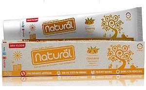 Creme Dental com Extrato de Cravo, Curcuma e Maelaleuca - Orgânico Natural
