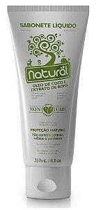 Sabonete Líquido Natural com Óleo de Coco e Extrato Romã - Orgânico Natural