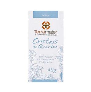 Cristais de Quartzo Esfoliante Orgânico 40g - Terramater