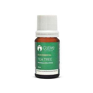 Óleo Essencial de Tea Tree Orgânico - Cativa Natureza