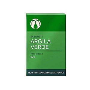 Sabonete Argila Verde para Pele Oleosa - Cativa Natureza