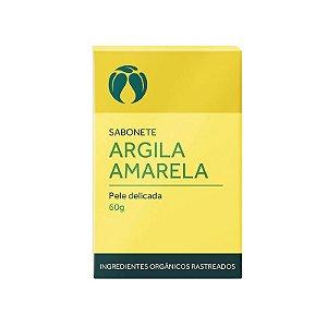 Sabonete Argila Amarela para Pele Delicada - Cativa Natureza