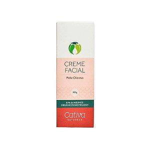 Creme Facial para Pele Oleosa - Cativa Natureza