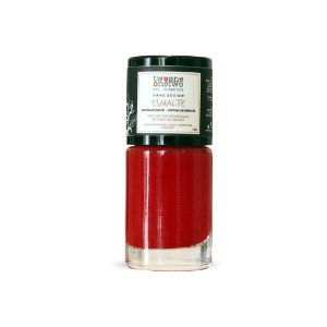 Esmalte Hipoalergenico Fortalecedor Natural e Vegano Poppy Red (624) - Twoone Onetwo