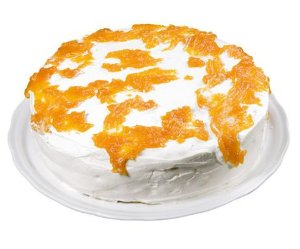 Torta Castanha e Nata