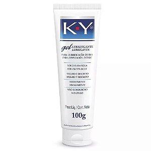 Gel Lubrificante KY para Lubrificação Íntima 100g