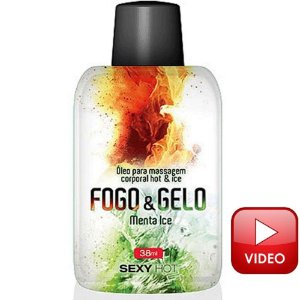 Gel Sexy Hot - Fogo e Gelo Menta Ice 38ml