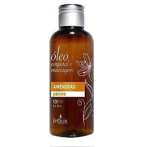 Óleo Aromático para Massagem Amendoas - 120 mL