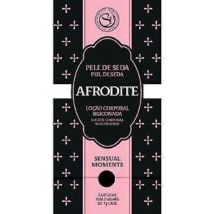 Sachets de Plaisir Afrodite - Loção Corporal Siliconada para Momentos Sensuais