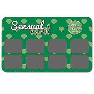 Raspadinha Sensual Card Strip Tease
