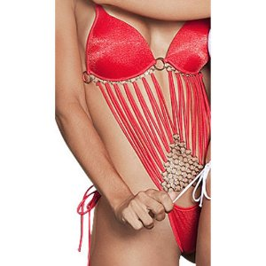 Body sexy modelo machuca - Vermelho