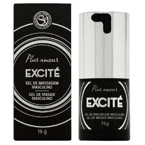 Gel Excitante de Massagem Masculino - 15 ml