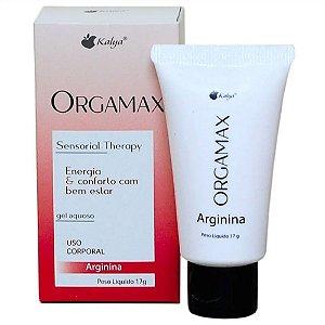 Gel Feminino Excitante Orgamax Arginina 17g - Coleção Sensorial Therapy