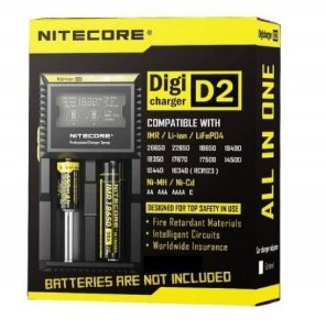 Carregador de Baterias – Nitecore D2