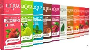 Liquido Liqua 30ml - Diversos Sabores