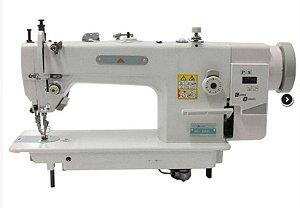 Máquina de Costura Industrial Reta Transporte Duplo Direct Drive MegaMak MK0303D