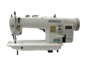 Máquina de Costura Industrial Reta Transporte Duplo Eletrônica Direct Drive MegaMak MK0303-D4