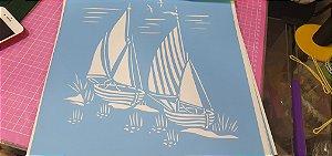 Stencil Navios 30cm