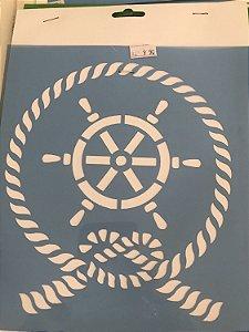Stencil Nautico