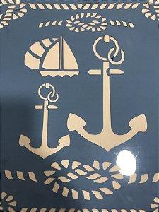 Stencil Ancoras