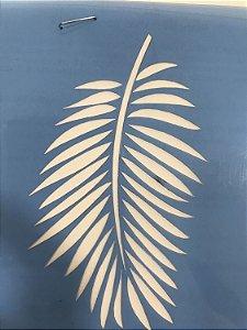 Stencil folha