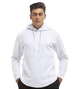 Blusa De Frio Moletom Masculino Oversized Longline Flanelado