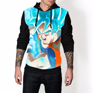 Blusa De Frio Dragon Ball Estampa Full Moletom Unissex REF 28