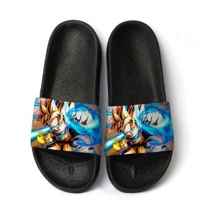 Chinelo Slide Dragon Ball Z Goku Super Sayajin