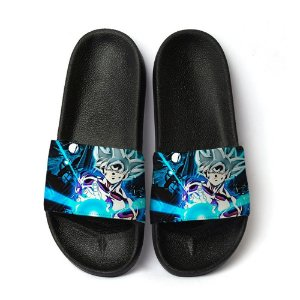 Chinelo Slide Dragon Ball Z Goku Kamehameha Masculino