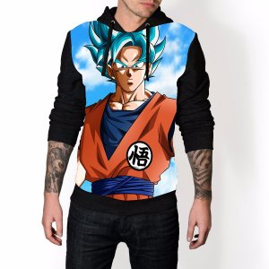 Blusa De Frio Dragon Ball Estampa Full Moletom Unissex REF 53