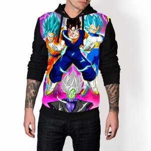 Blusa De Frio Dragon Ball Estampa Full Moletom Unissex REF 54