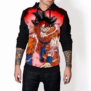 Blusa De Frio Dragon Ball Estampa Full Moletom Unissex REF 57
