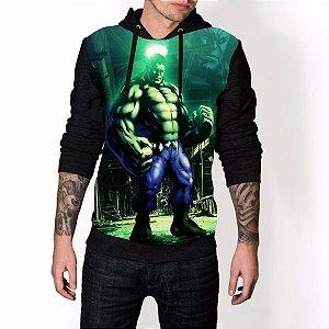 Blusa De Frio Hulk Estampa Full Moletom Unissex REF 98