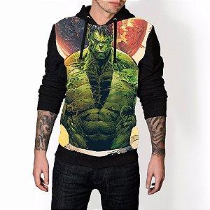Blusa De Frio Hulk Estampa Full Moletom Unissex REF 99