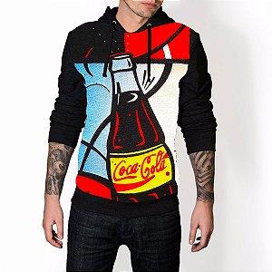 Blusa De Frio Coca Cola Enjoy Full Moletom Unissex
