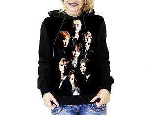 Blusa De Frio Kpop BTS Full Moletom Unissex