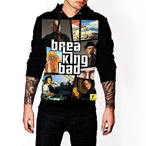 Blusa De Frio Breaking Bad GTA Estampa Full Moletom Unissex