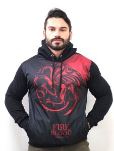 Blusa De Frio Game Of Thrones Estampa Full Moletom Unissex