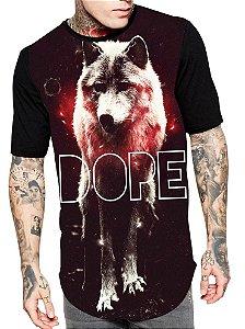 Camiseta Camisa Longline Estampa Full Dope Unissex