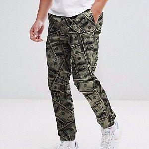 Calca Moletom Dollar Money Tumblr Dinheiro Festa Eua Swag