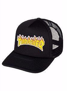 Boné Trucker Skateboard Thrasher Radical Skate