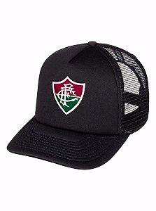 Boné Trucker Tela Telinha Fluminense Tricolor Carioca