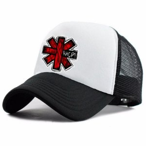 Boné Trucker Promoção Banda Red Hot Chili Peppers Rock