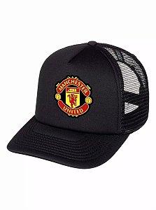 Bone Trucker Telinha Confort Manchester United Futebol Time