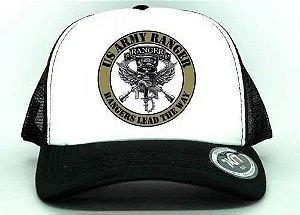 Bone Aba Curva Exercito Americano Army Ranger Militar