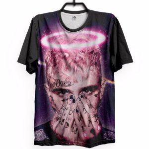 Camiseta Camisa Estampa Full 3d Lil Peep Love Promoção 6e6d359c387