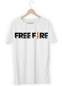 Camiseta Camisa - Free Fire - Seu Nick - Nickname Blusa Top!
