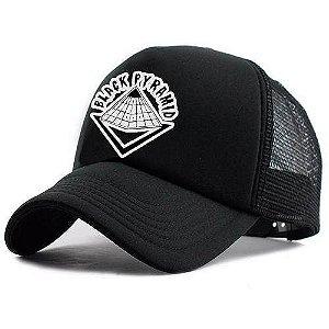 Boné Trucker Promoção Black Pyramid Pronta Entrega