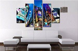 Quadro 5 Times Square 100cm X 68cm Lux